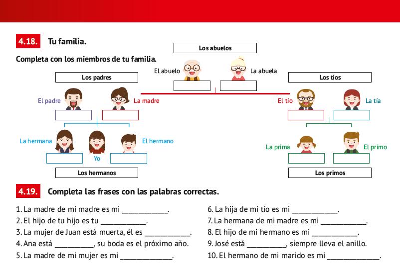 La Familia Libro de Español Arriba A1
