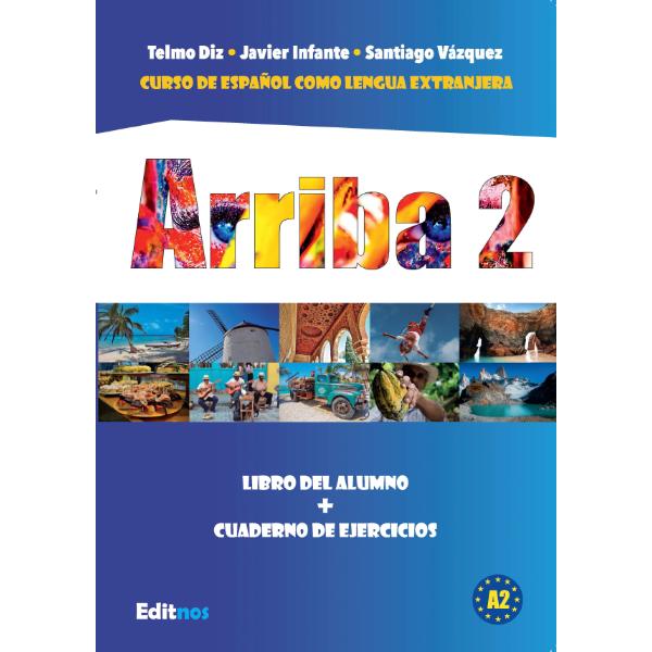 Okładka książka do hiszpańskiego Arriba 2