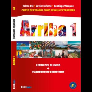 Okładka książka do hiszpańskiego Arriba 1